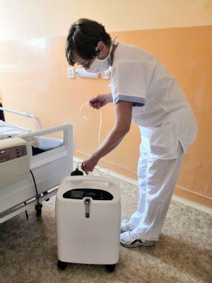 Nemocnice AGEL Český Těšín pořídila nové přístroje pro pacienty sdechovou nedostatečností
