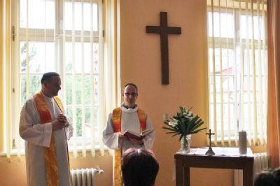 V Nemocnici Český Těšín byla dnes otevřena a požehnána nová kaple