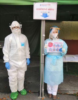 Odběrové místo Nemocnice AGEL Český Těšín nabízí nově antigenní testování