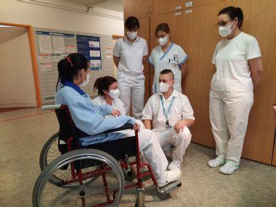 Tento týden začal další akreditovaný kvalifikační kurz Sanitář v Nemocnici AGEL Český Těšín